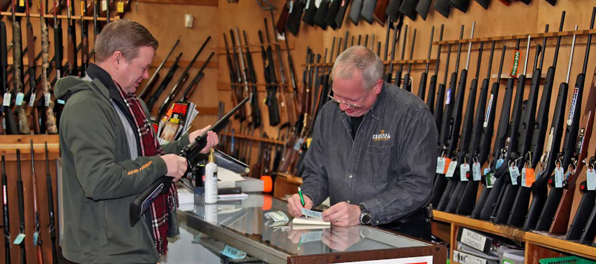 Firearms at Superior Shooters Supply